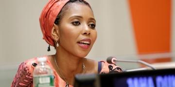 Ambassadrice bonne volonté régionale : ONU Femmes copte Jaha Dukureh