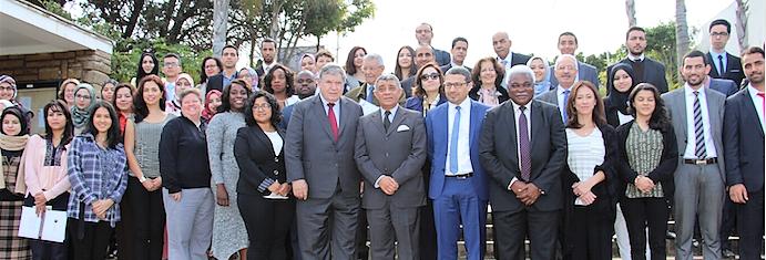 Troisième Voyage d'études au Maroc des étudiants de l'Université Internationale de Floride (USA)