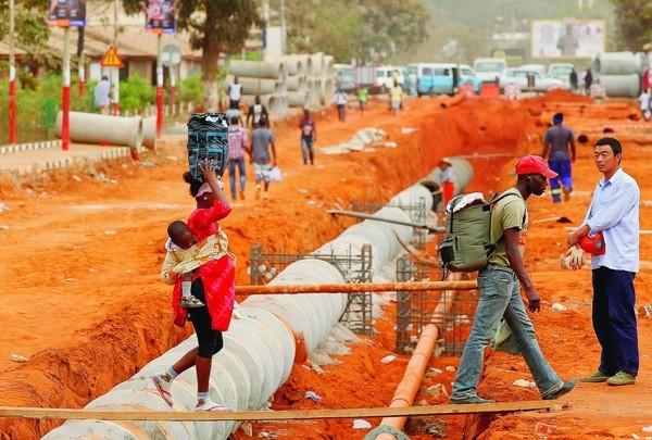 L'Angola envisage de négocier un prêt de 15,5 milliards de dollars avec la Chine pour financer des projets de développement