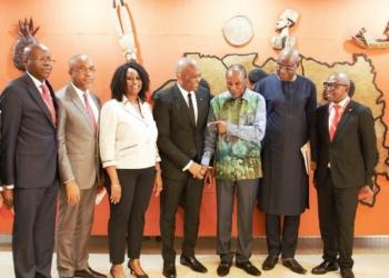 TEF 2018 : Elumelu et Condé encouragent les coptés guinéens