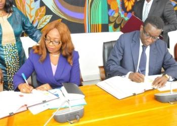 Le Sénégal et la BAD signent 4 accords de 123 milliards f cfa