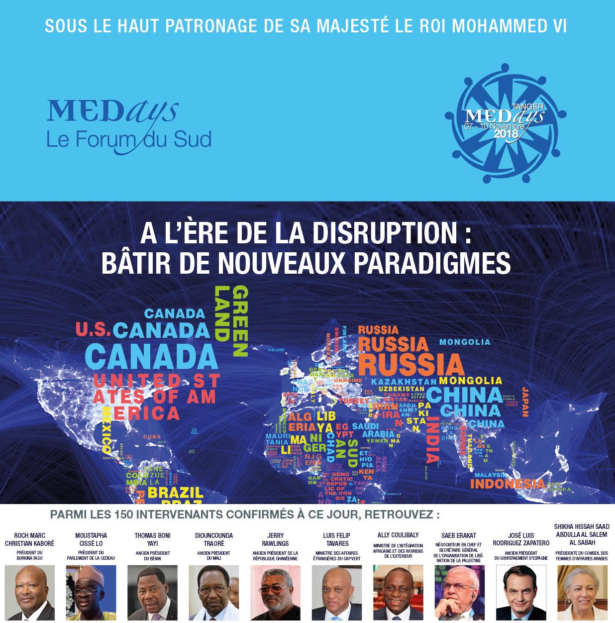 11ème édition MEDays: Renforcer la coopération entre les pays du sud