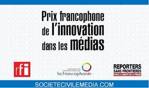 Lancement de la quatrième édition du Prix francophone de l'innovation dans les médias