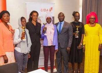 Concours dissertation Fondation UBA: Ndéye Magatte Fall triomphe