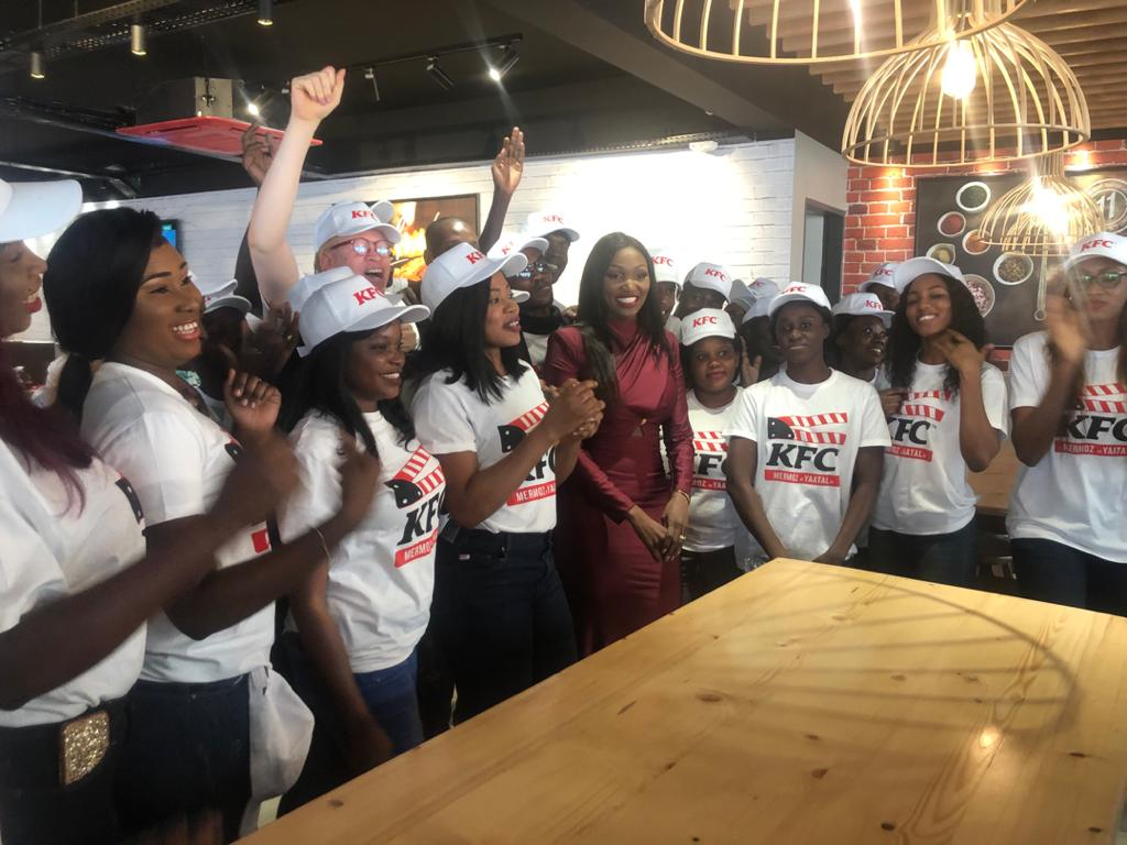 Inauguration du deuxième restaurant KFC à Dakar