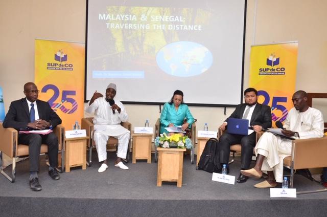 L'ambassadrice de la Malaisie au Sénégal a visité Sup de Co