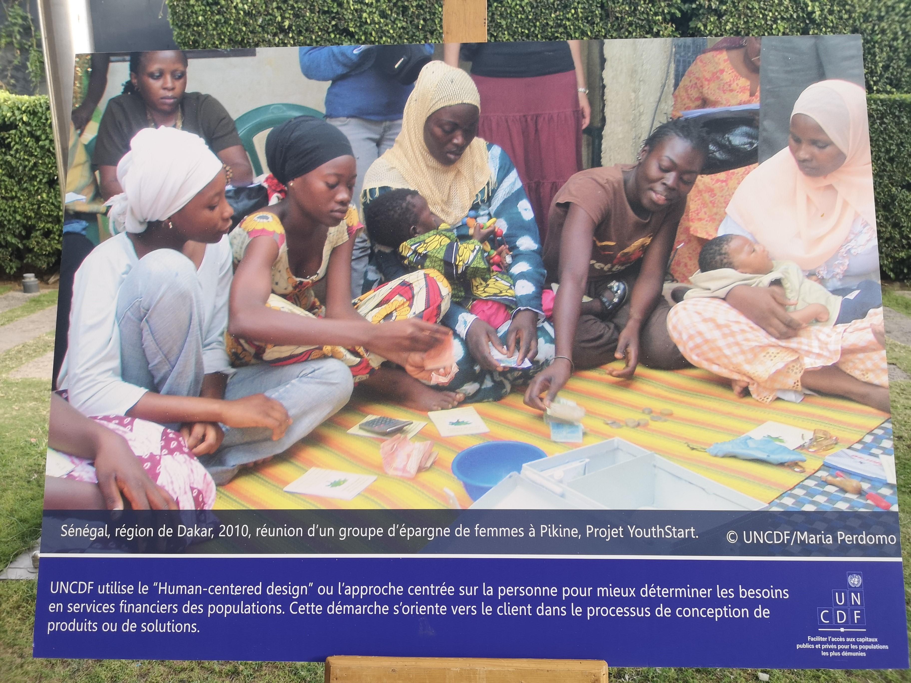 Exposition Photos : L'UNCDF retrace 40 ans d'actions  pour le développement