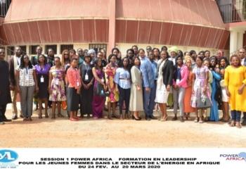 Les jeunes femmes du secteur énergétique en Afrique en formation à Dakar