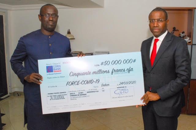Covid-19 au Sénégal : Le Croupe CORIS contribue à hauteur de 50 millions CFA