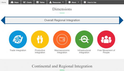 Intégration régionale en Afrique :  Lancement d'un site internet