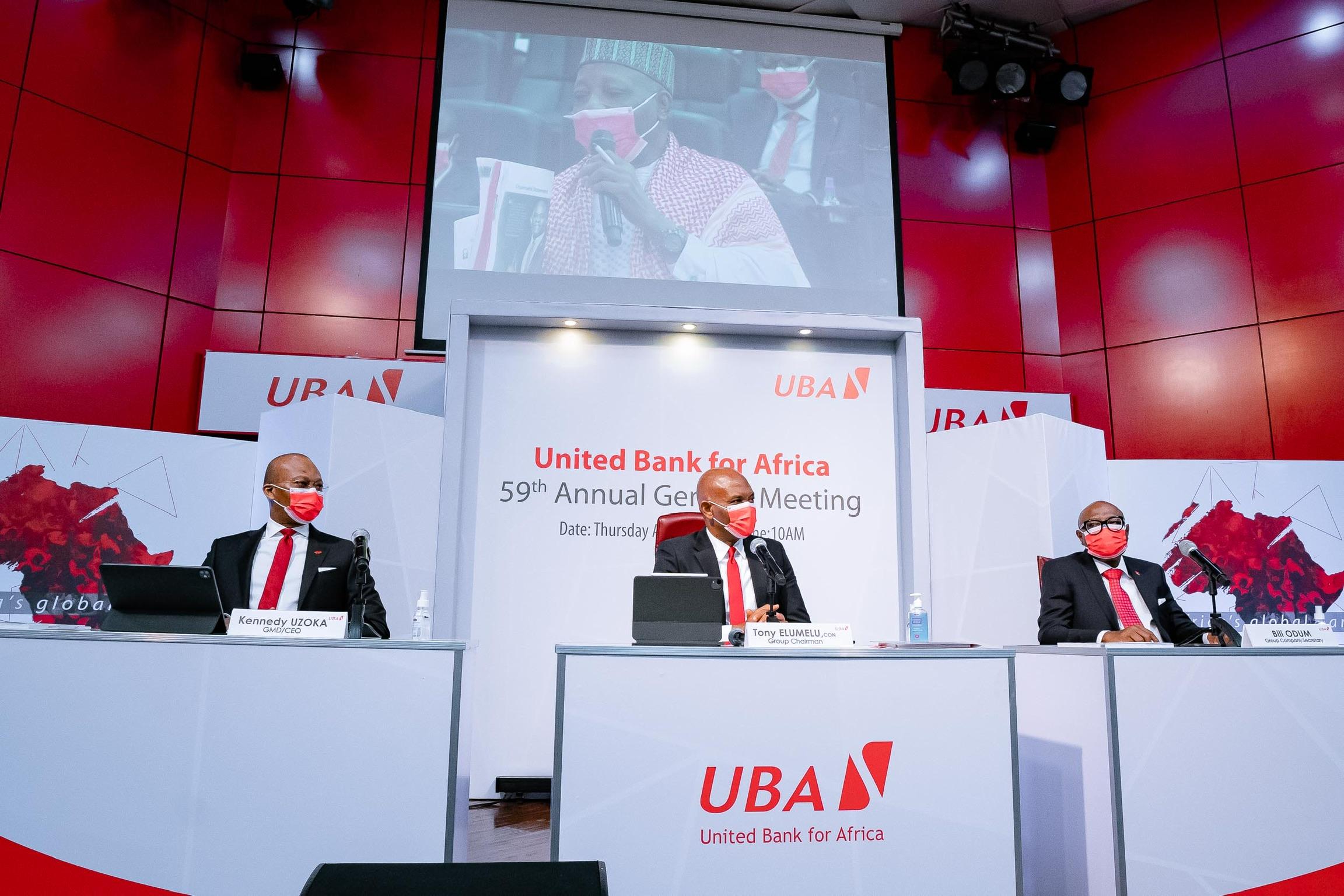 277,57 millions USD de bénéfices engrangés par UBA durant l'exercice 2020