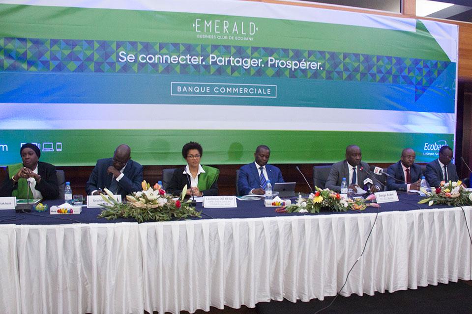 Lancement du concept Emerald Business Club d'Ecobank : Des PME connectées, pour favoriser le partage d'information pour une prospérité de l'entreprenariat
