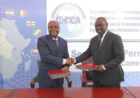 Amélioration du climat des affaires en Afrique: La Banque Mondiale et l'OHADA signe un accord