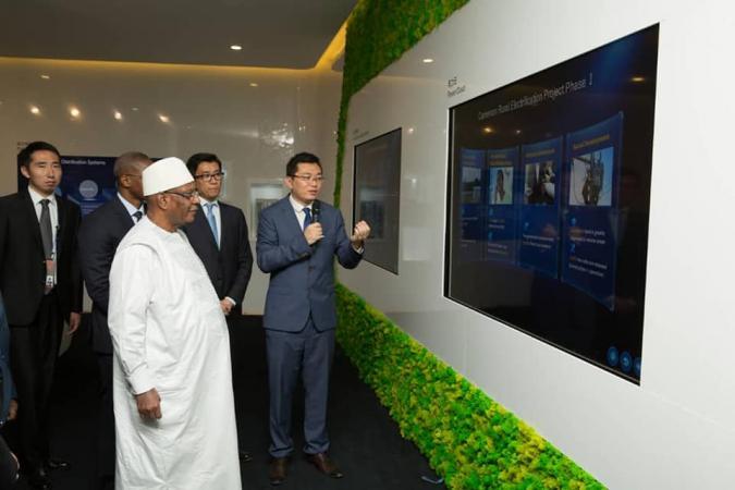 Formation dans les métiers du numérique: Le Mali signe un accord avec Huawei