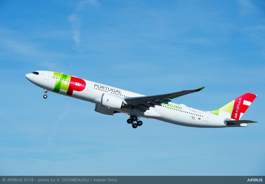 Transport aérien: TAP Air Portugal réceptionne son premier A330-900