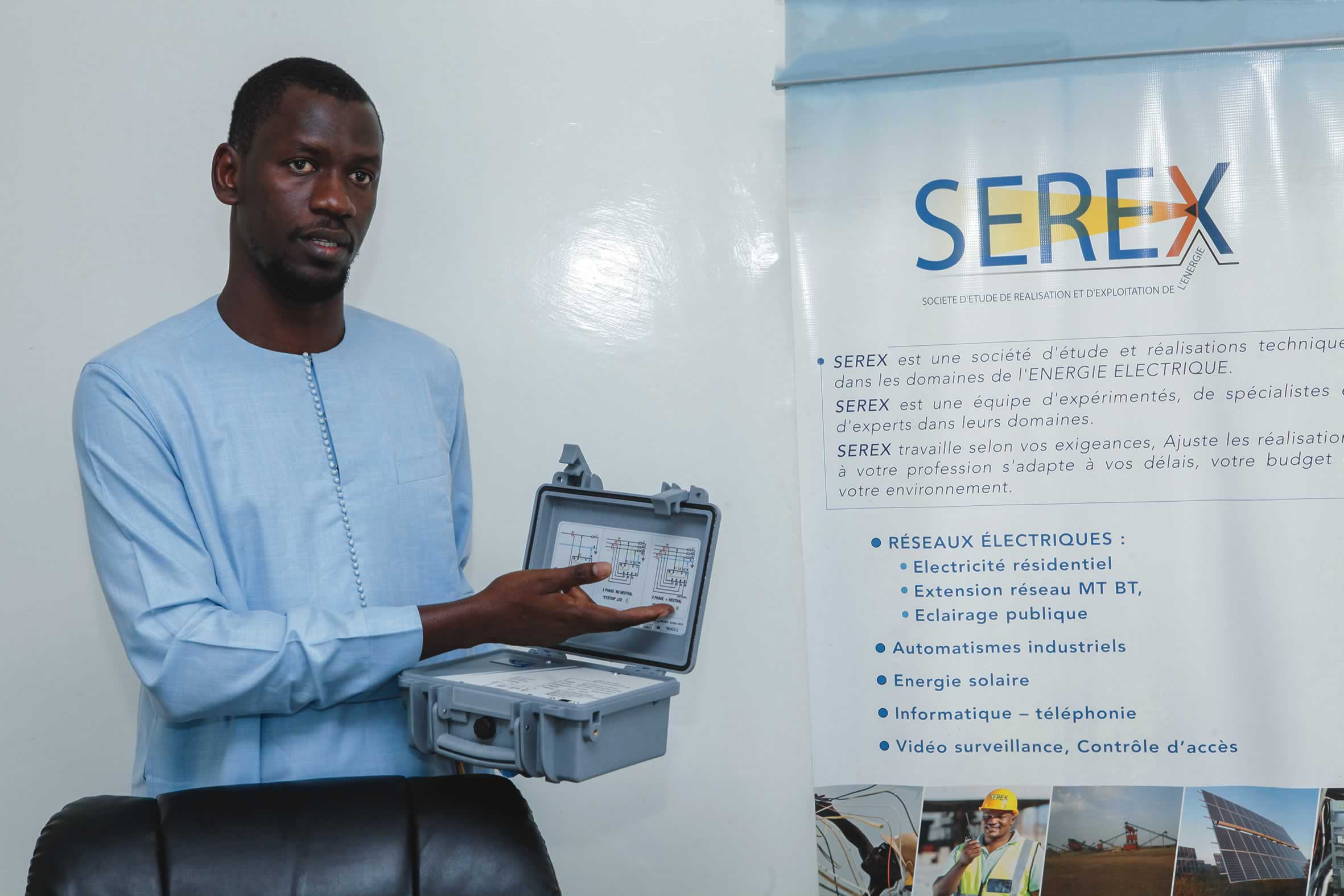 «Nos grands patrons devraient … aller à la rencontre des jeunes entrepreneurs pour partager leur expérience» , Ibrahima Dione, Pdt CJD Sénégal