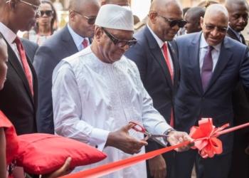 Lancement filiale UBA Mali: Ibrahim Boubacar Keïta souhaite la bienvenue à la banque panafricaine