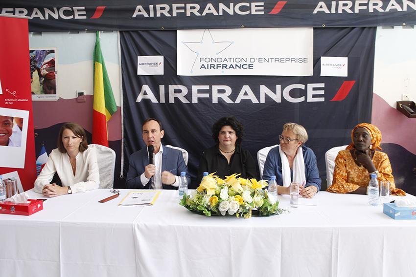 Sénégal : La fondation Air France au chevet des enfants défavorisés