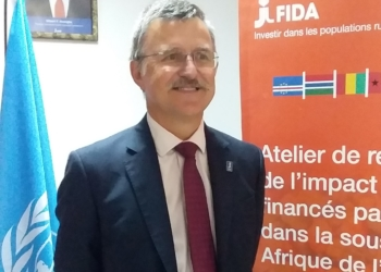« Les objectifs du FIDA sont d'arriver à créer un moteur de développement », Benoit Thierry, Directeur bureau FIDA