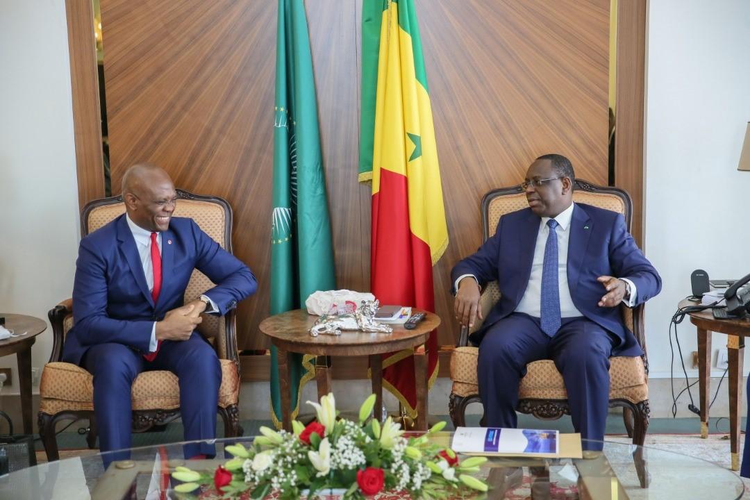 Promotion Entrepreneuriat: Macky Sall reçoit Tony Elumelu
