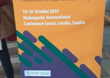 5ème conférence de l'enregistrement des faits d'état civil, du 14 au 18 octobre 2019, à Lusaka