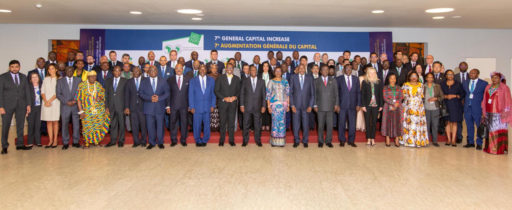 Les actionnaires de la BAD approuvent une augmentation de capital de 115 milliards d'USD