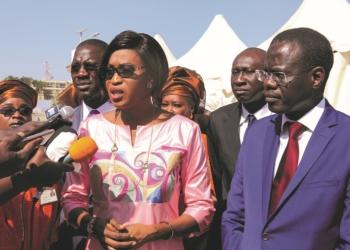 Zahra Iyane Thiam Diop, Ministre de la Microfinance, de l'Economie sociale et solidaire