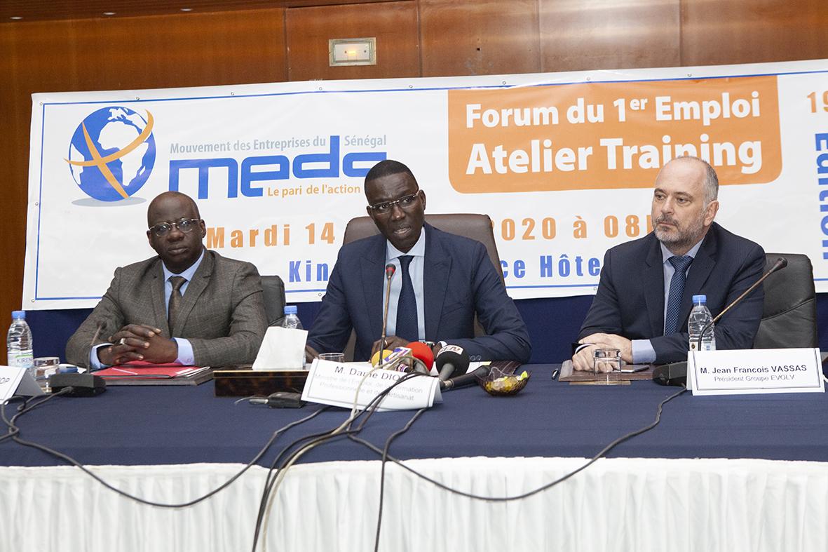 Sénégal : Le MEDS offre une passerelle entre l'école et le monde du travail