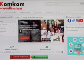 E-commerce : lancement de deux plateformes en ligne