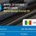 « Bons Social Covid – 19 » : Plus de 1 000 milliards de FCFA mobilisés sur le Marché des Titres Publics