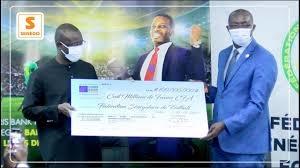 Coris Bank International Sénégal sponsorise la Fédération Sénégalaise de Football