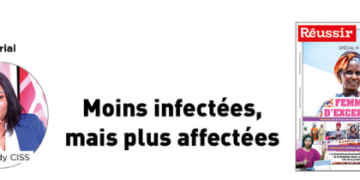 Edito N°155 : Moins infectées,  mais plus affectées